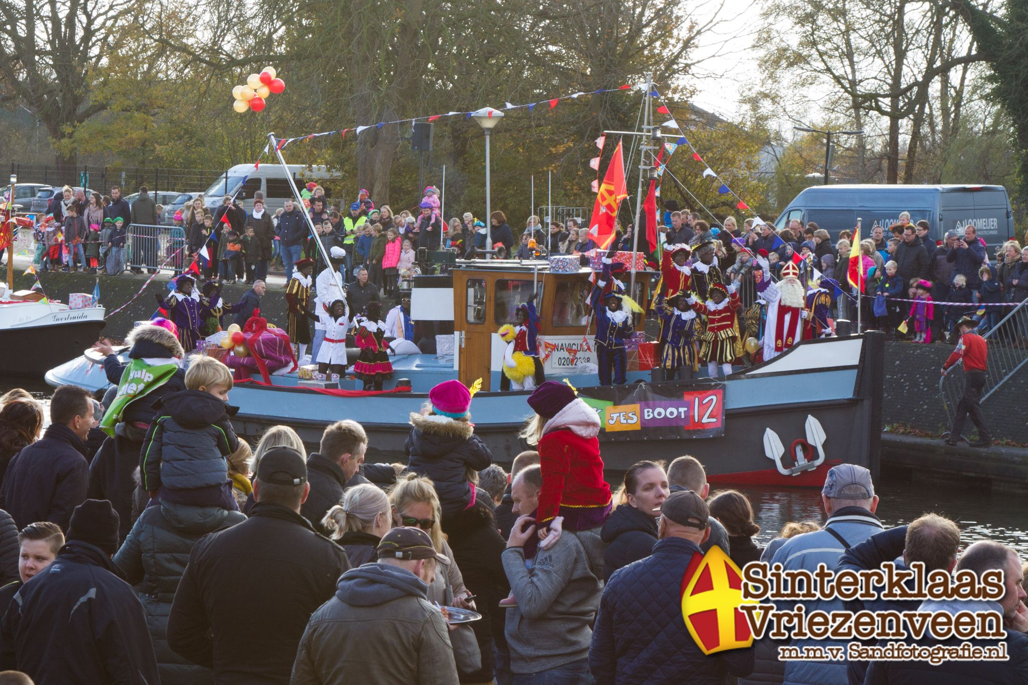 Sinterklaasintocht 18 november 2017 Vriezenveen Sand Fotografie