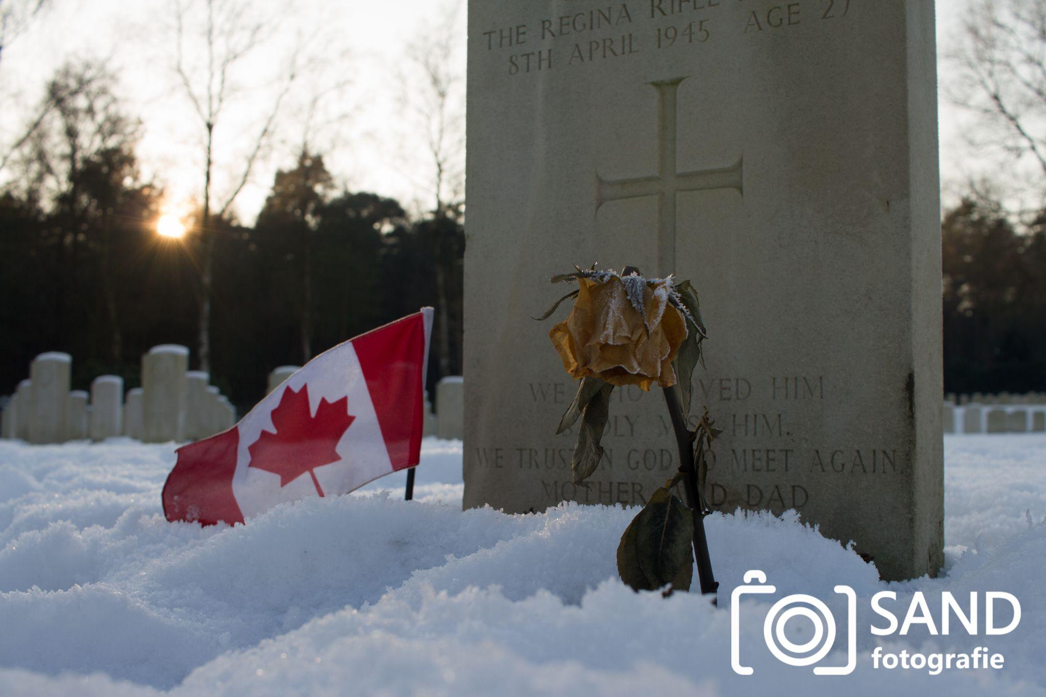 Canadese begraafplaats Holten 2017 Sand Fotografie