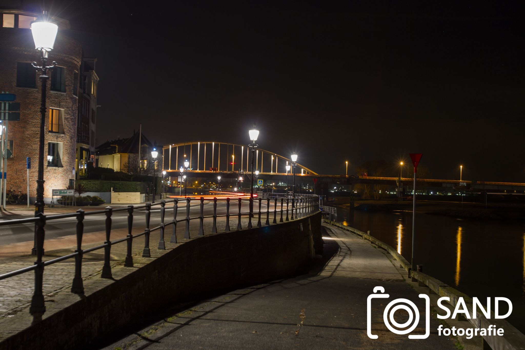 Deventer bij nacht 2017 Sand Fotografie