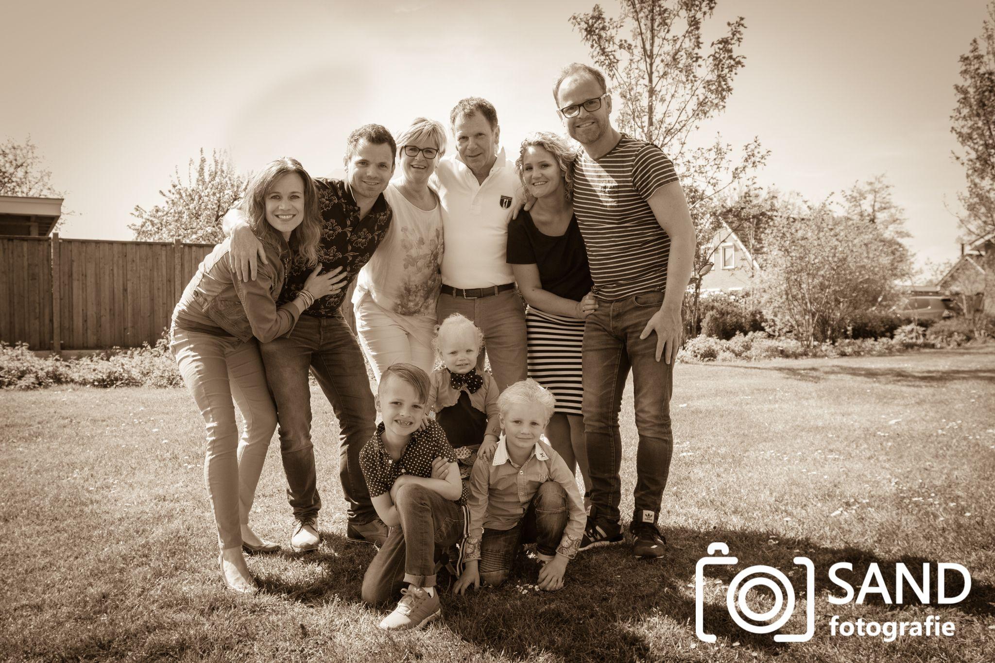 Een gezin / familie op de foto door Sand Fotografie