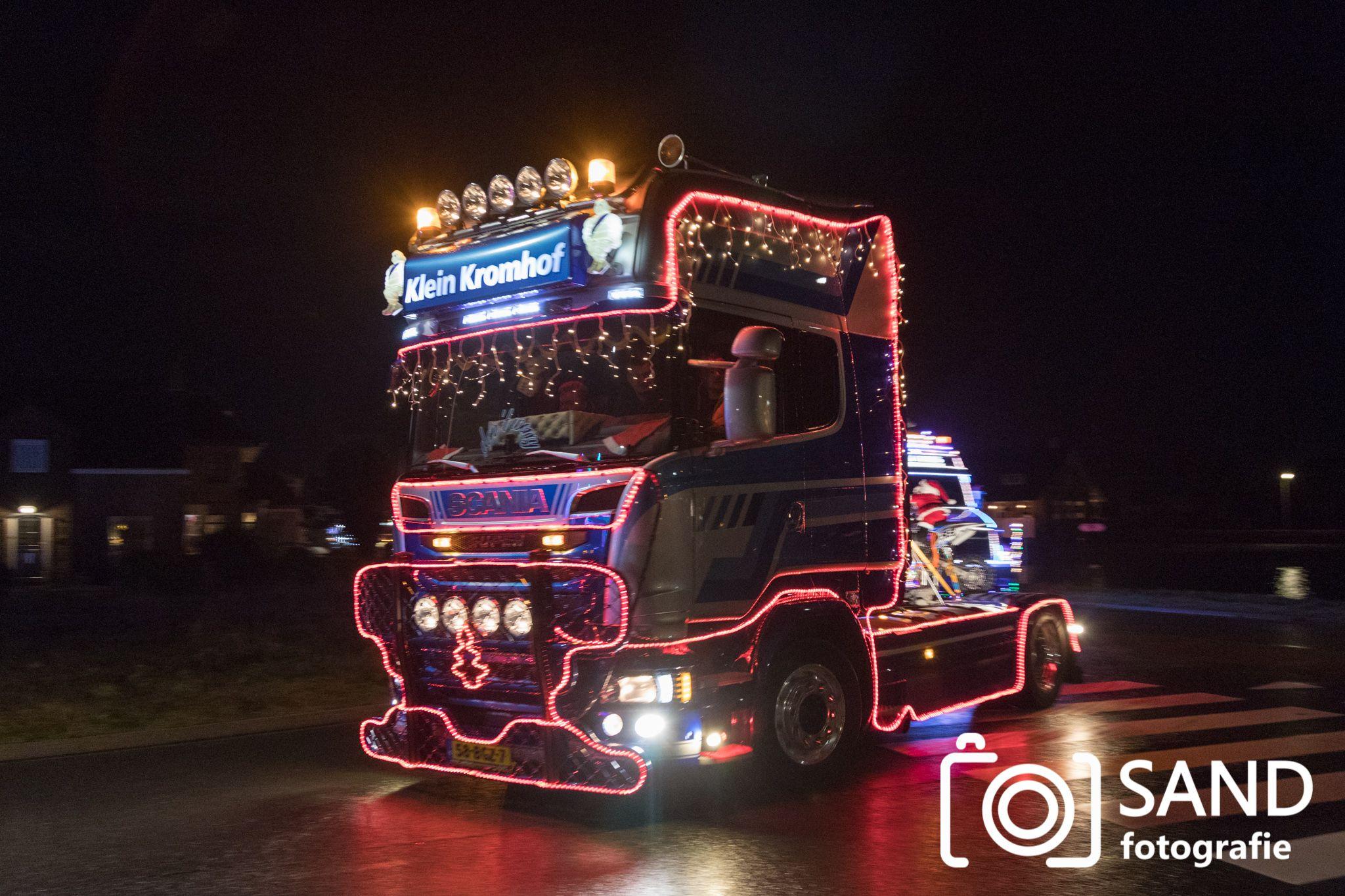 14 december 2019 Verlichte truckrit Twenterand Vriezenveen Sand Fotografie