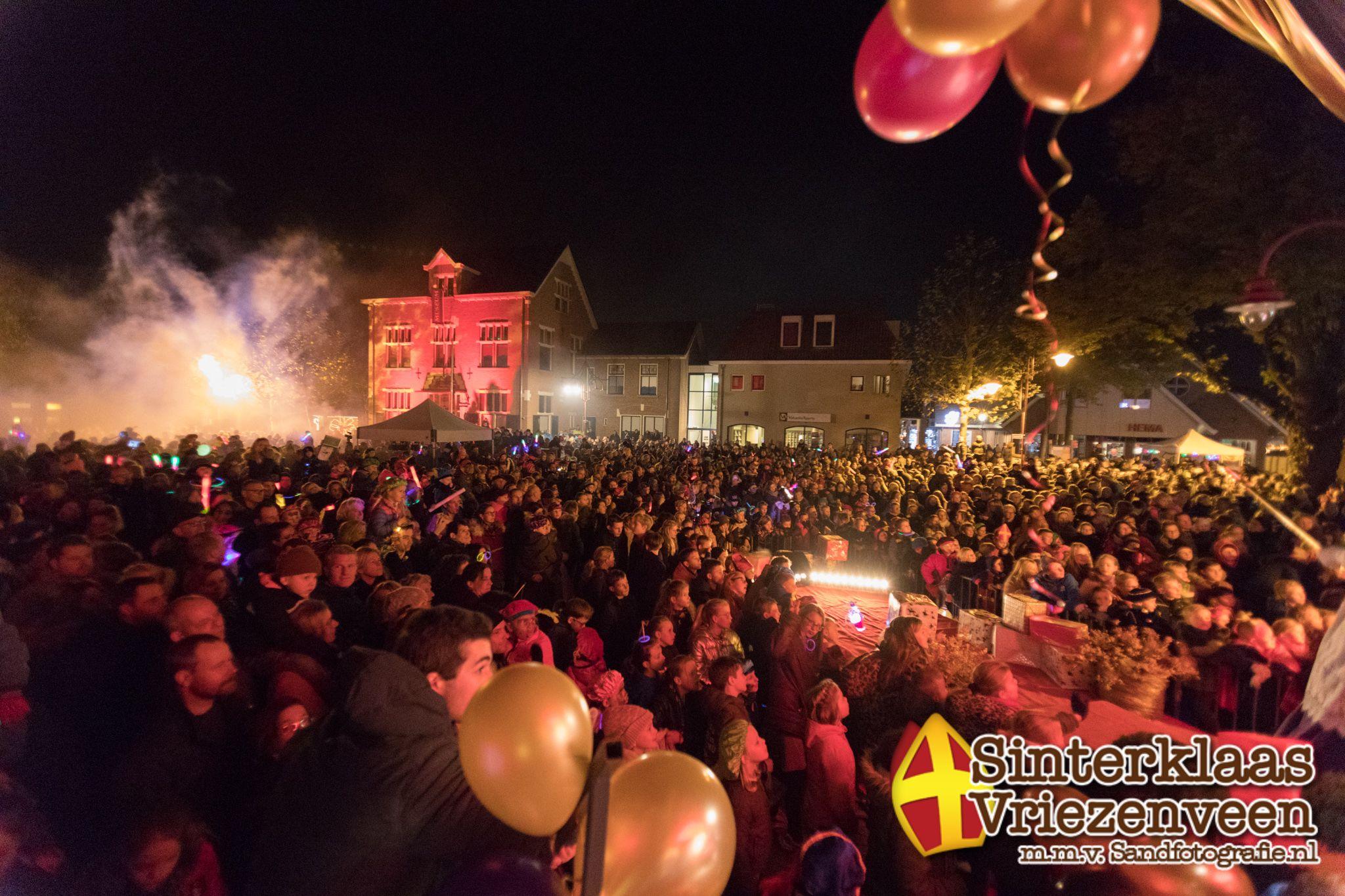 Sinterklaasintocht 16 november 2019 Vriezenveen Sand Fotografie