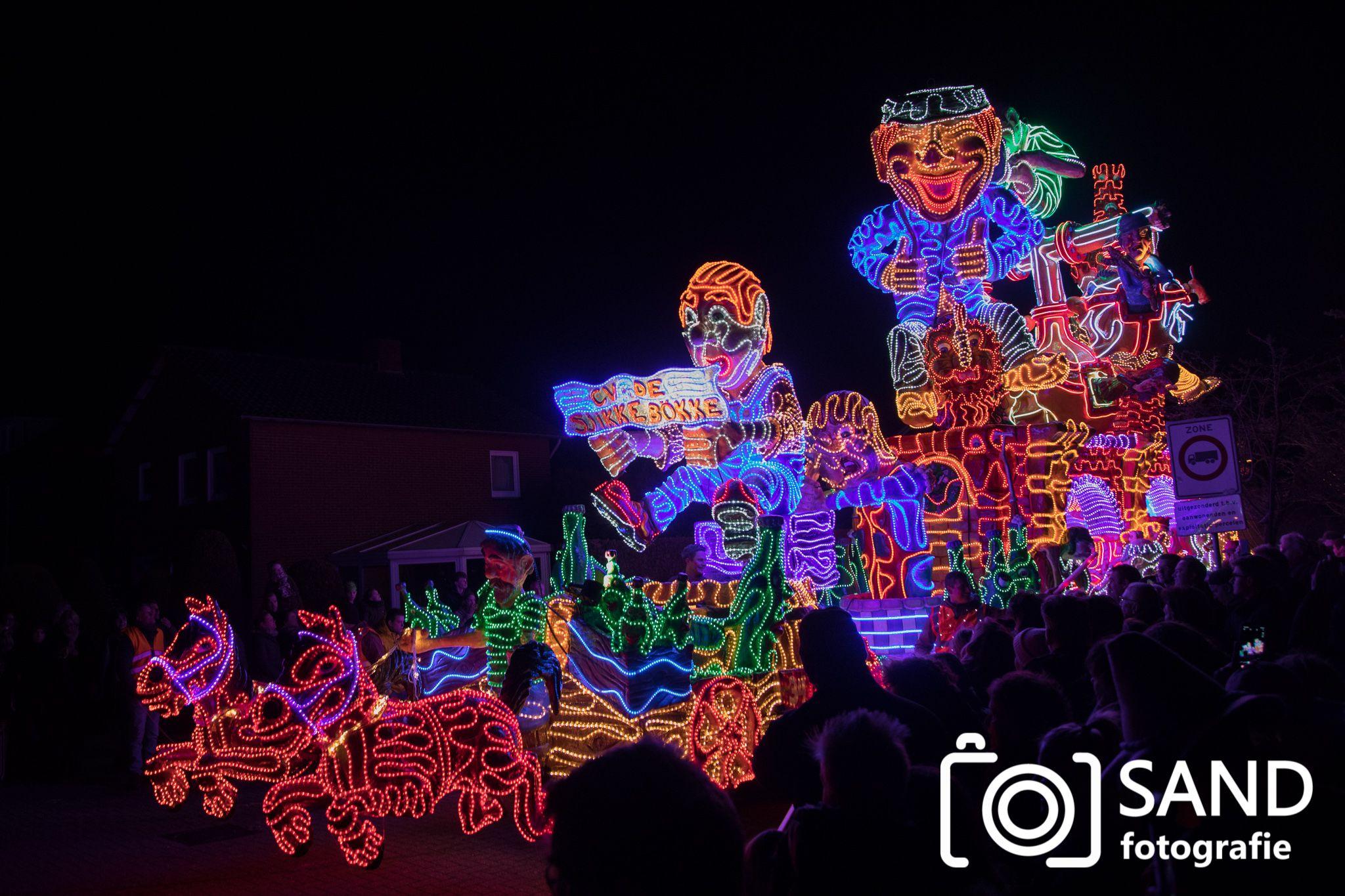 21 februari 2020 Verlichte carnavalsoptocht Tubbergen Sand Fotografie
